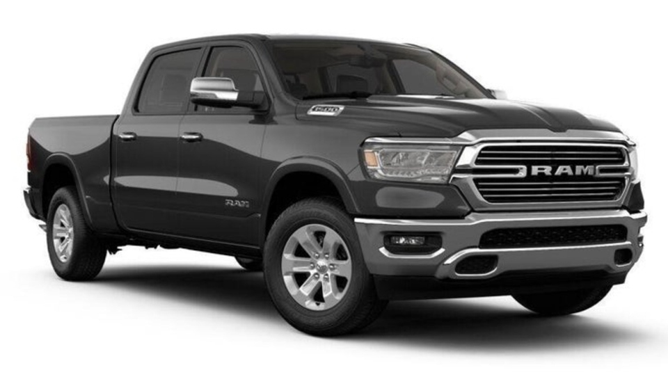 RCMP provided an image of a truck similar to the one that was seen fleeing the scene. (Supplied)