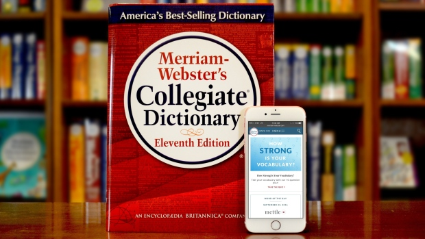 """Merriam-Webster has officially added the nonbinary pronoun """"they"""" as an entry in its dictionary. (Handout / Getty Images)"""