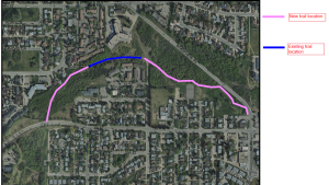 Red Deer trail expansion map. Sept. 17, 2019.