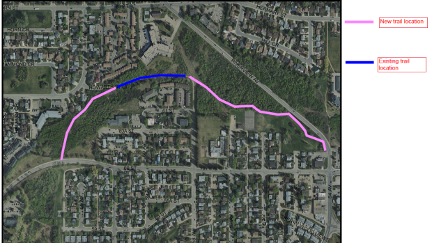 Red Deer trail expansion