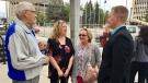 Carolyn Strom outside of the Court of Appeal in Regina (Gareth Dillistone / CTV News Regina)