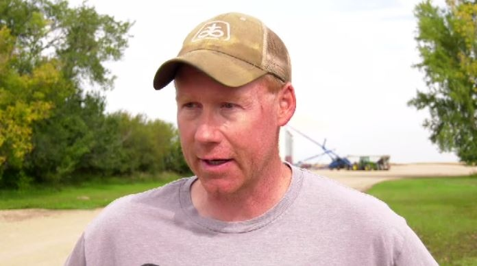 Davidson farmer waits for chance to finish harvest