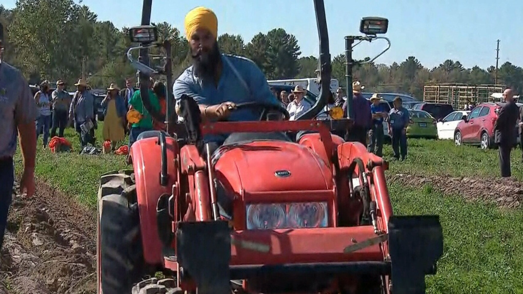Jagmeet Singh campaigns where some voters say they won't vote for candidate with turban