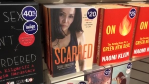 "Sarah Edmondson's new book, ""Scarred,"" recounts her time with the sex cult and how she helped bring the leader down."