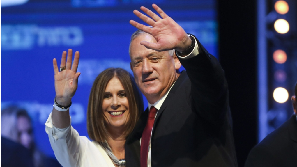 Benny Gantz and his wife Revital