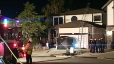 house fire NE Edmonton