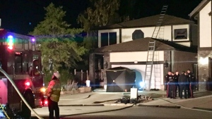 house fire NE Edmonton