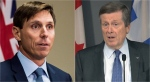 "John Tory said Brampton Mayor Patrick Brown's suggestion that ""416 gang activity"" is to blame for the violence in his city is ""not constructive""."