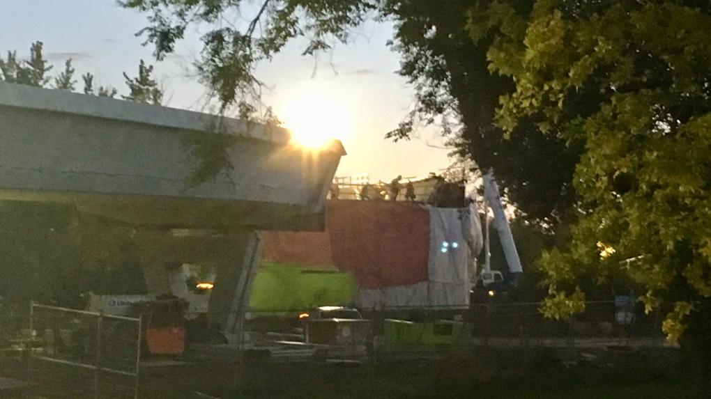 Overnight LRT construction begins Wednesday