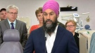 NDP Leader Jagmeet Singh speaks