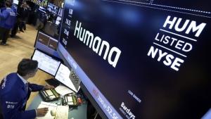Humana on the floor of the New York Stock Exchange