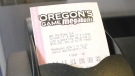 An Oregon Megabucks lottery ticket.