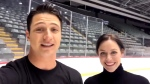 Emotional good-bye from Scott and Tessa