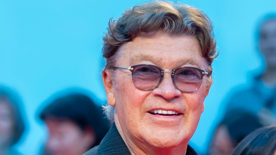 Robbie Robertson arrives for the gala premiere of the film