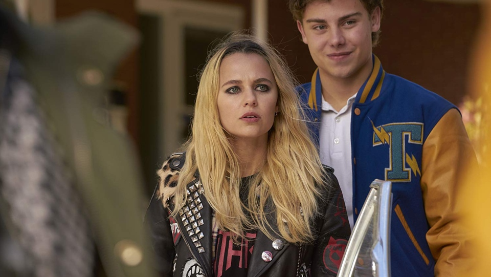Madison Iseman, left, can be seen in this scene from 'Riot Girls.' (Cranked Up Films)