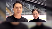 Tessa and Scott goodbye