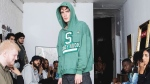 American fashion brand Bstroy has received fierce criticism on social media after displaying school shooting-themed hoodies at a show during New York Fashion Week. (source:Instagram bstroy.us)