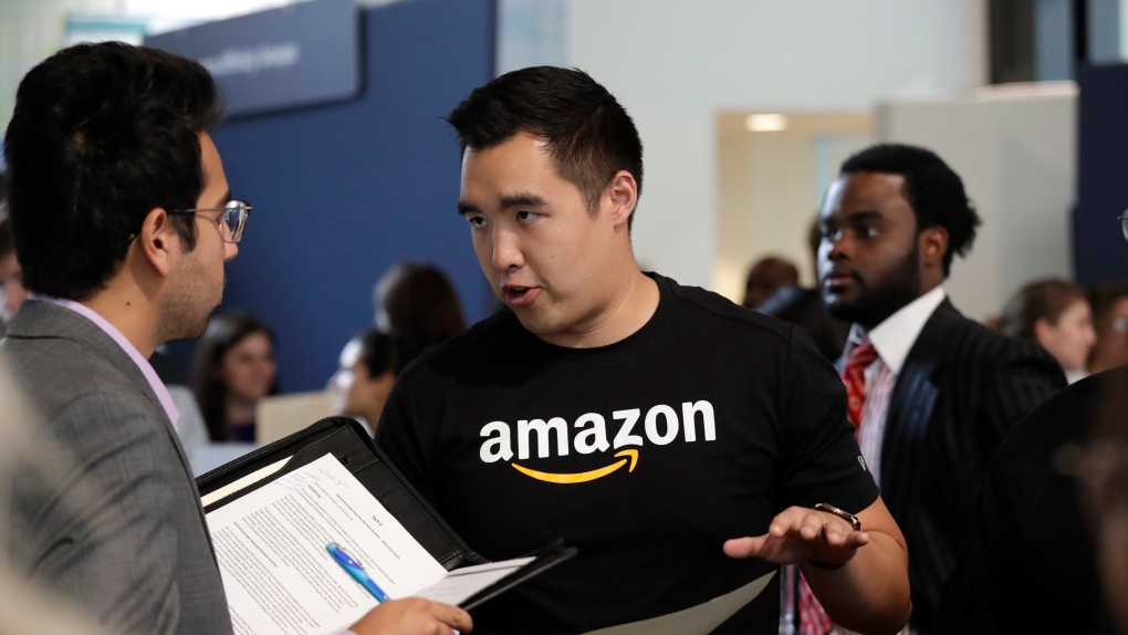 Amazon opens 30,000 jobs in the U.S.; holds nationwide job fair