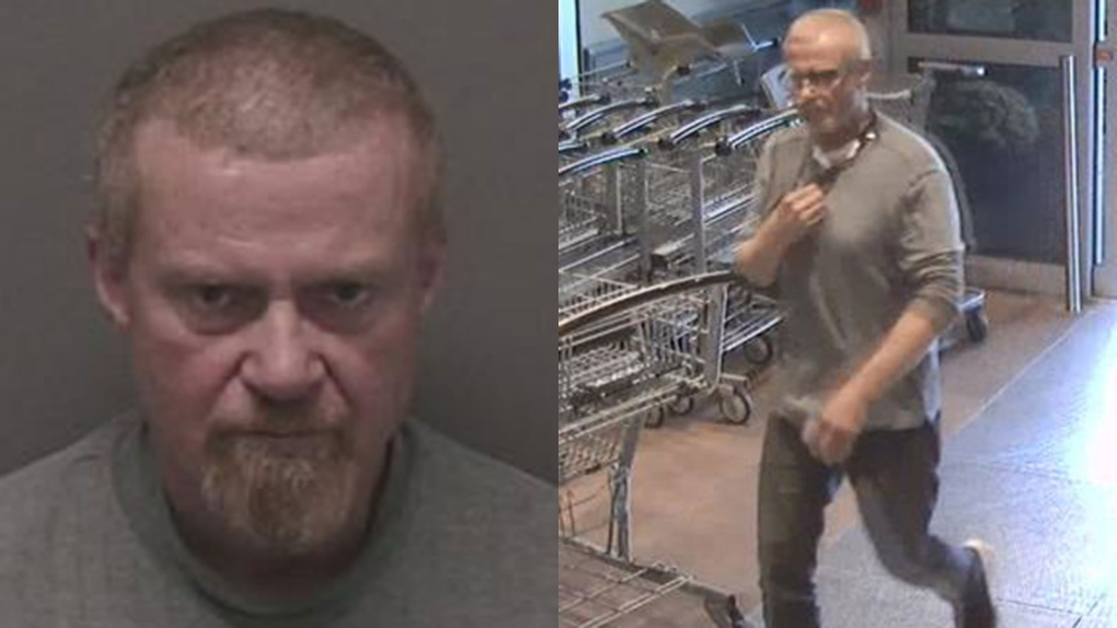 Man accused of demanding cash from grocery store clerk while armed with handgun