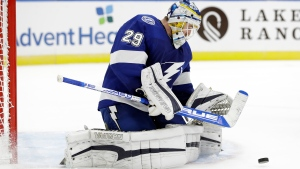 Tampa Bay Lightning goaltender Scott Wedgewood