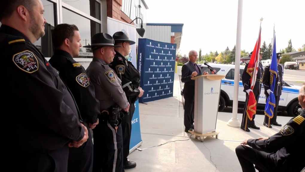Peace officers, Rod Lazenby, Chestermere,