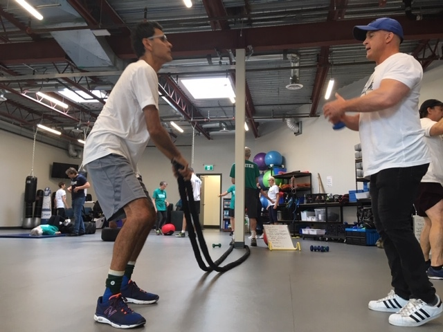 Sukhi Rai, who was diagnosed with Parkinson's disease nine years ago, participates in a free community class at the Parkinson Wellness Project: Sept. 18, 2019 (CTV News)