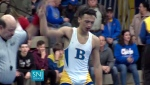 In this image made from a, Dec. 19, 2018 video provided by SNJTODAY.COM, Buena Regional High School wrestler Andrew Johnson, right, is declared the winner by referee Alan Maloney, left, after his match in in Buena, N.J. Before the match a Mahoney told Johnson he would forfeit his bout if he didn't have his dreadlocks cut off. (Michael Frankel/SNJTODAY.COM via AP, File)