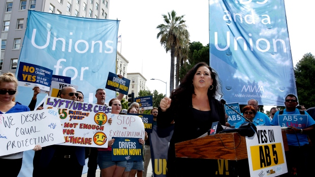 California Governor signs landmark gig-worker bill
