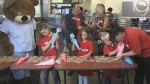 In the Community: Smile Cookies at Tim Hortons