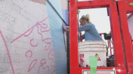 Watch as a downtown canvas transforms