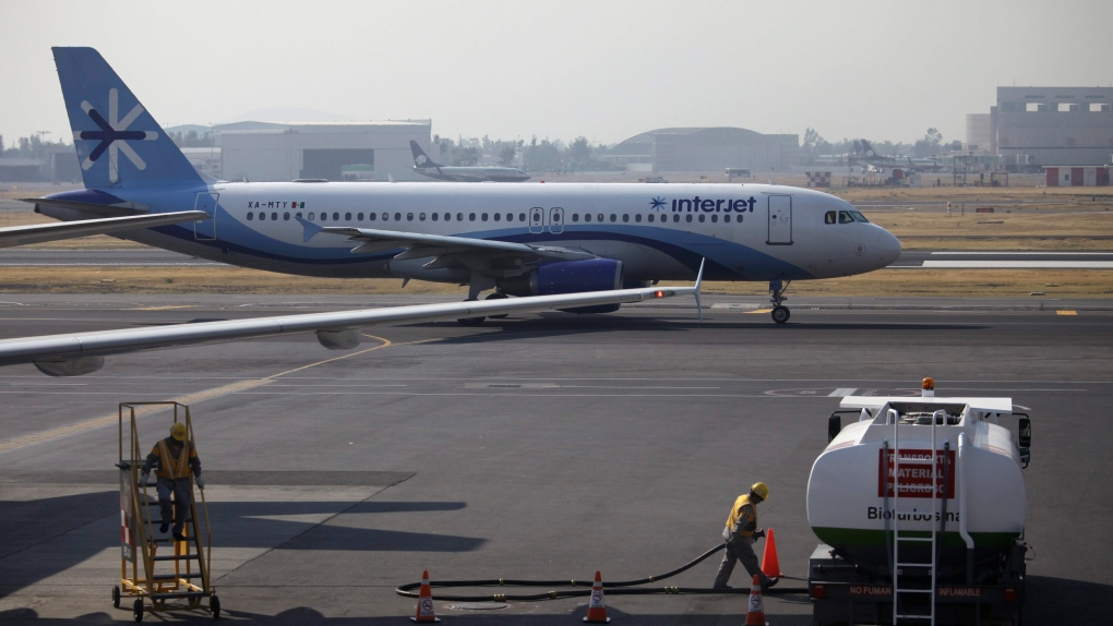 Mexico's Interjet grounds 2 workers after 'bomb' comment