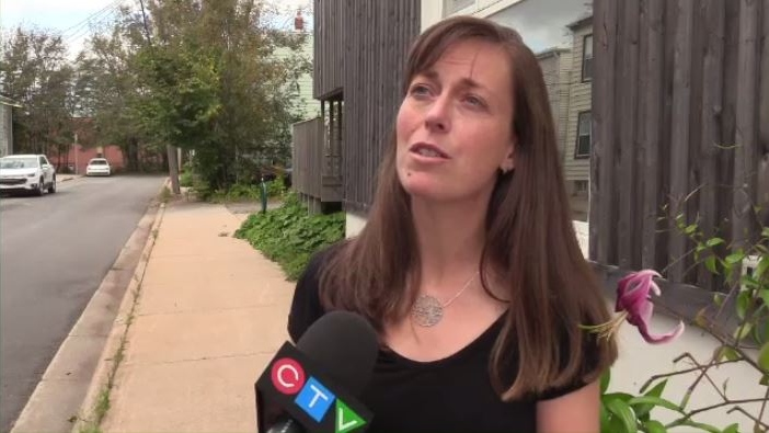 Karen McKendry of the Ecology Action Centre says it's nice to see such a productive cleanup effort by the city, but she cautions not all debris needs to be carted away.