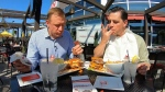 Jeremy and Mike take the burger challenge