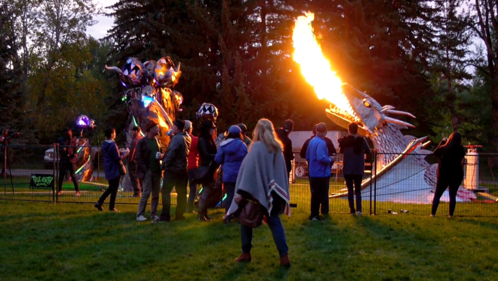 Beakerhead's blend of science and imagination gives crowd a sneak peek