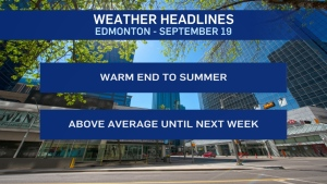 Sept. 19 weather headlines