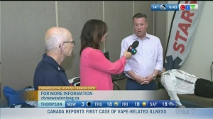 Leaders in paramedic practice from across Canada are here in Winnipeg for an expo. Rachel Lagacé reports.
