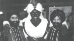 CTV News has confirmed that this is a second photo of Justin Trudeau at the 'Arabian Nights' Gala, seen in the April 2001 West Point Grey Academy newsletter titled 'View Point.'