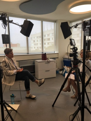W5's Sandie Rinaldo interviews Julia Creet