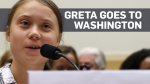 Greta Thunberg to Capitol Hill: 'Listen to the sci