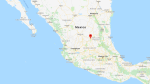 San Luis Potosi is shown on a Google Map.