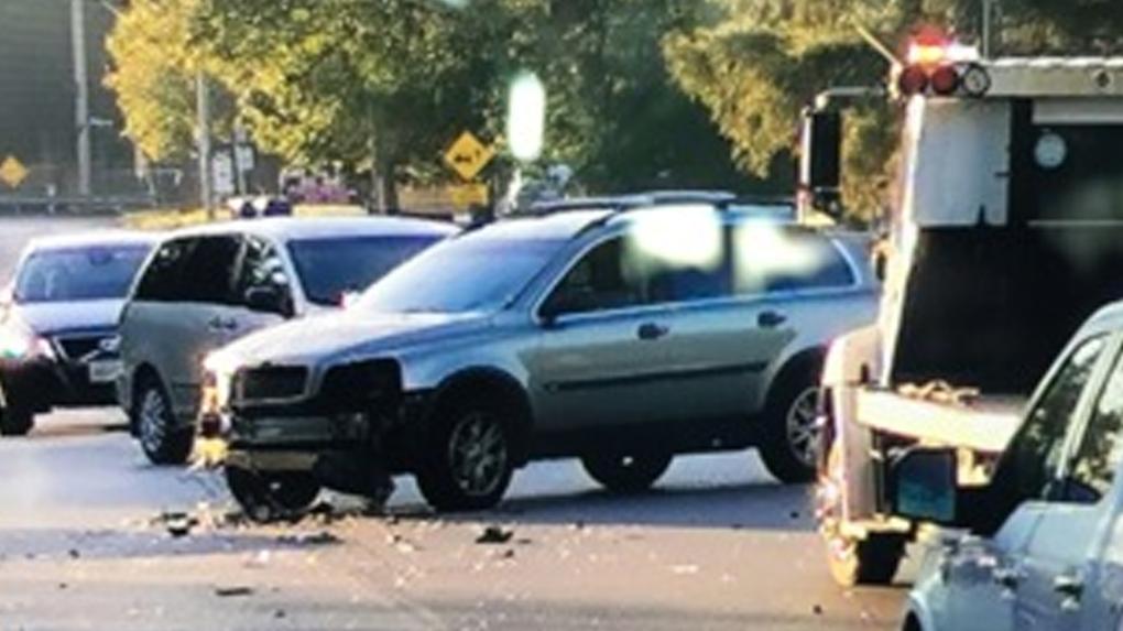 vehicle bus crash preston cambridge