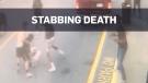 Stabbing death