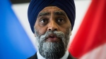 Harjit Sajjan speaks during a news conference in Vancouver, Thursday, Aug. 15, 2019. THE CANADIAN PRESS/Darryl Dyck