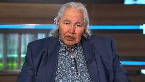 Sen. Murray Sinclair speaks to CTV's Chief Anchor and Senior Editor Lisa LaFlamme on Thursday, Sept. 19, 2019.
