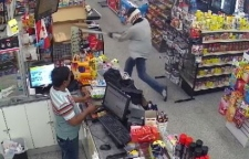 Security footage shows robbery
