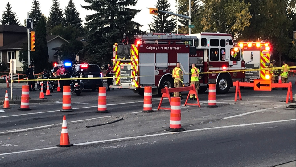 Police were called to a crash in the Midnapore area on Thursday, Sept. 19, 2019.