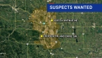 Convenience stores in Whitehorn and Braeside were robbed by suspects with bear spray