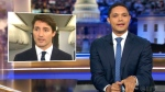 Trudeau becomes punchline on late night shows
