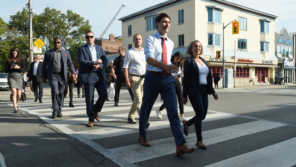 Justin Trudeau, Julie Dabrusin, Nate Erskine-Smith