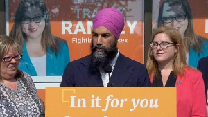 NDP Leader Singh makes pharmacare announcement